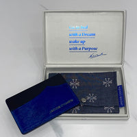 Jacob Cohen Electric Blue Card Holder