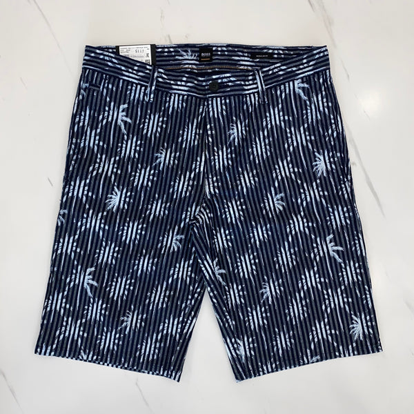 Hugo Boss Palm Navy Shorts