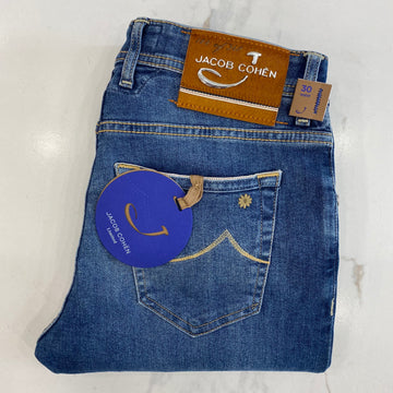 Jacob Cohen Limited Edition Denim with Tan Badge