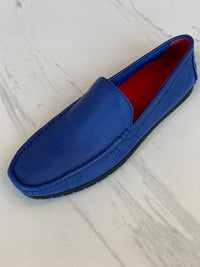 LaCuzzo Blue Supersoft Loafer