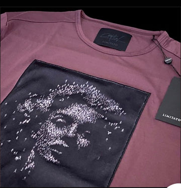 Limitato Monroe plum T-Shirt
