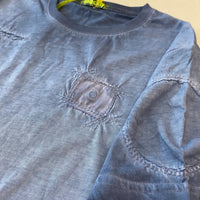 Shockly Blue Distressed T-Shirt