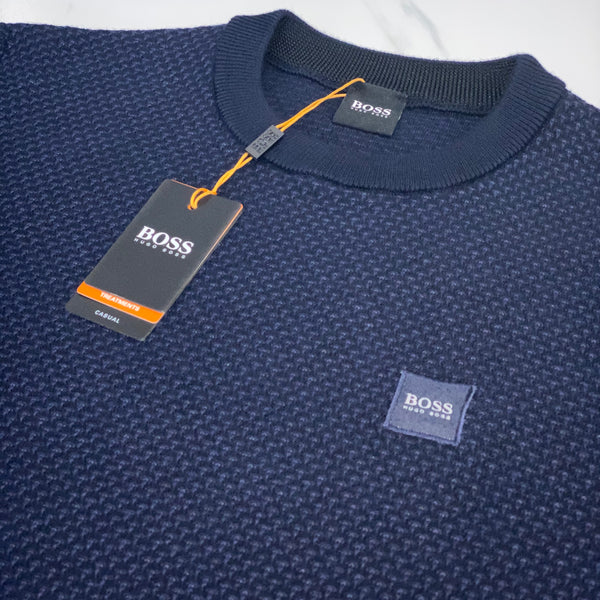 Hugo Boss Karsten Navy Jumper