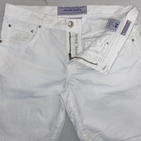 Jacob Cohen White Shorts
