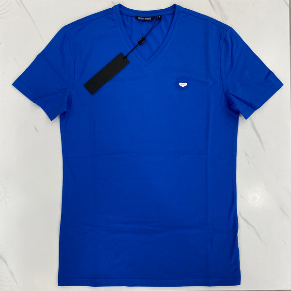 Antony Morato Blue V-Neck T-Shirt