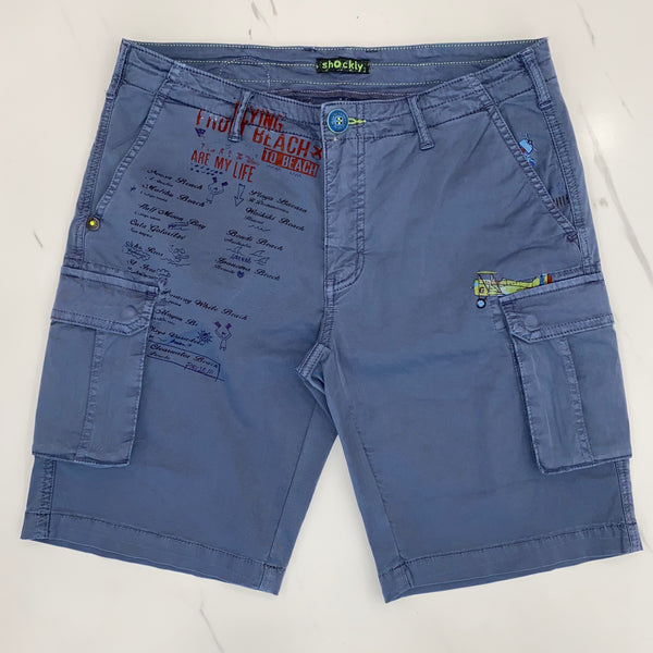 Shockly Blue Shorts