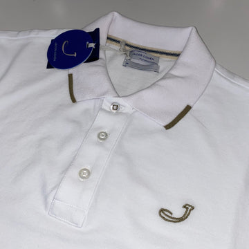 Jacob Cohen White Polo