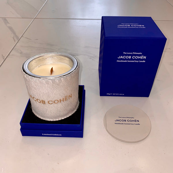 White Jacob Cohen Handmade Scented Soy Candle