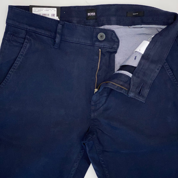 Hugo Boss Shino-Slim Navy Trouser