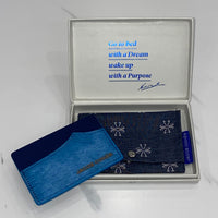 Jacob Cohen Turquoise Card Holder