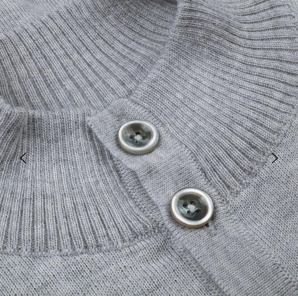 Stenstroms Grey Merino 4 button