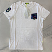 Shockly White Pocket T-Shirt