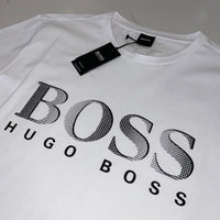Hugo Boss Branded White T-Shirt