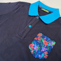 Shockly Navy polo