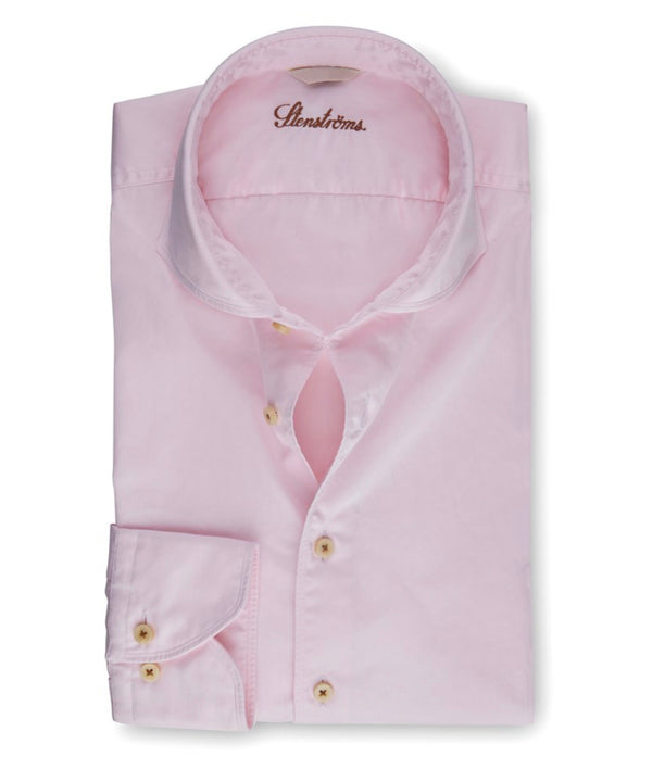 Stenstroms Light Pink Casual Slimline Shirt