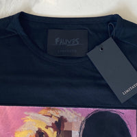 Limitato Nr 5 by Paul Fauves Black T Shirt