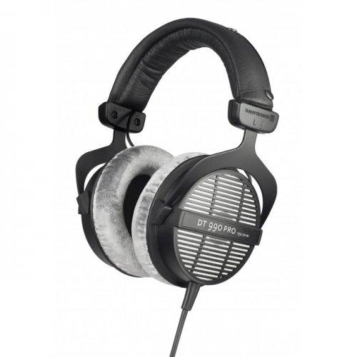 BEYERDYNAMIC DT 990 PRO 250 OHMS PROFESSIONAL ACOUSTICALLY OPEN HEADPHONES FOR MONITORING AND STUDIO APPLICATIONS