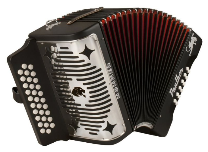 Hohner BLACK PANTHER G-C-F Accordion
