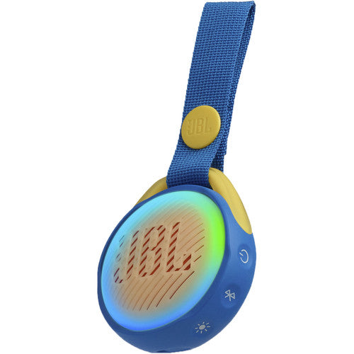 JBL JR POP Kids Portable Bluetooth Speaker (Cool Blue)