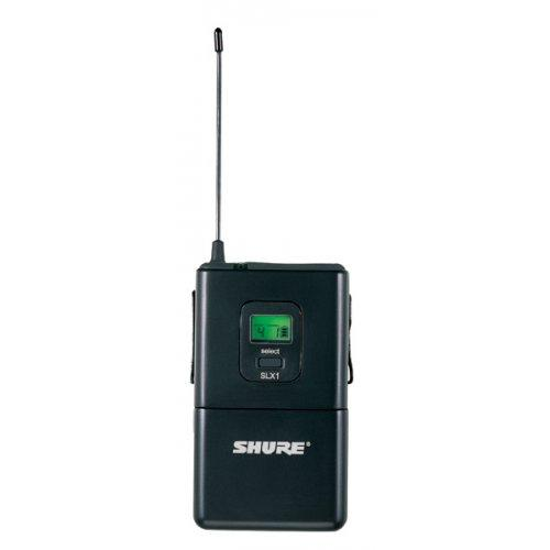 SHURE SLX1 WIRELESS BODYPACK TRANSMITTER FREQUENCY J3