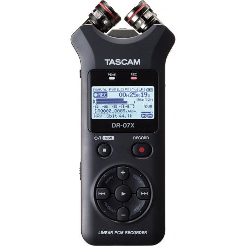 Tascam DR-07X Digital Audio Recorder And Usb Interface