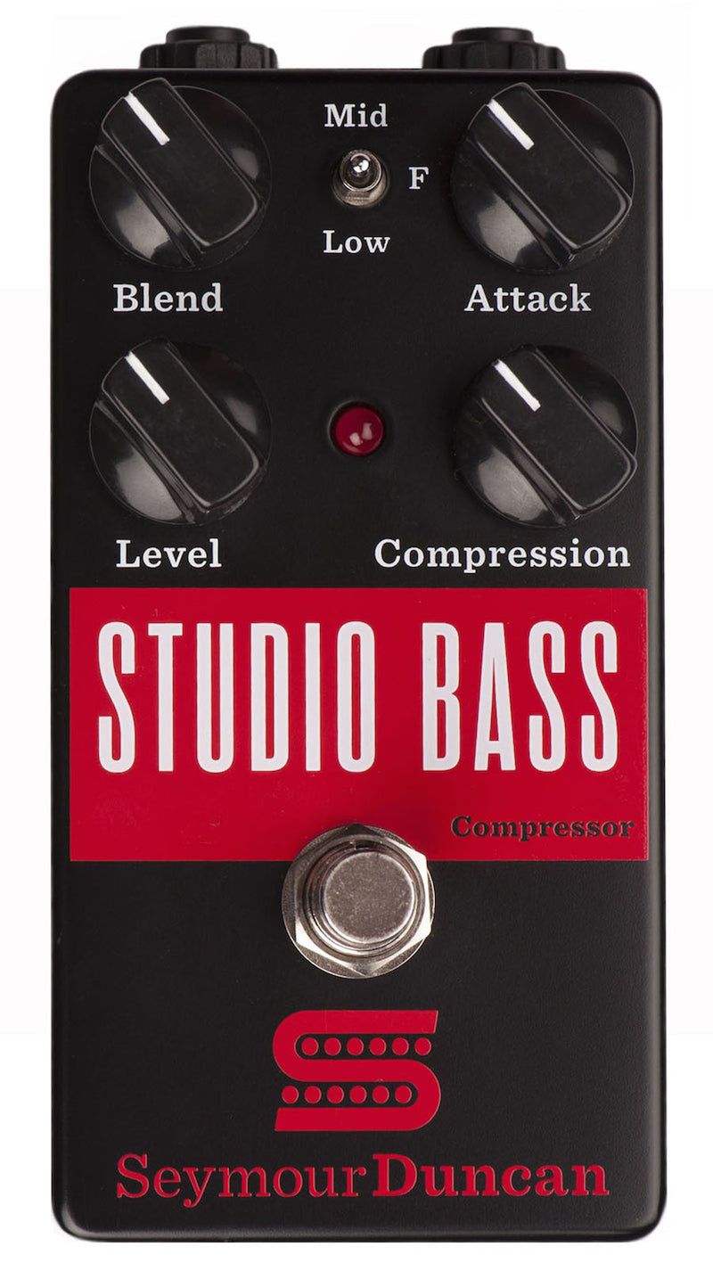 Seymour Duncan STUDIO BASS Compressor - Bass Guitar Effects Pedal