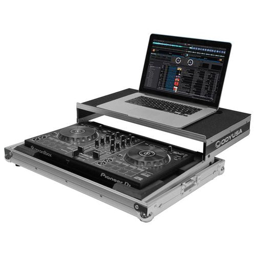 Odyssey Dj Controller Case Frgspiddjrb I Low Profile Pioneer DDJ-400 / DDJ-RB / DDJ-SB3 Flight Case with Glide Platform - Red One Music