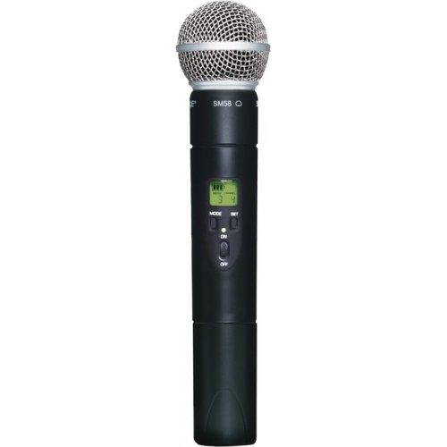 Shure Slx2/Sm58 Wireless Handheld Transmitter Frequency J3 - Red One Music