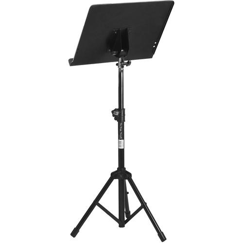 On-Stage Sm7211B Conductor Stand With Folding Tripod Base - Red One Music