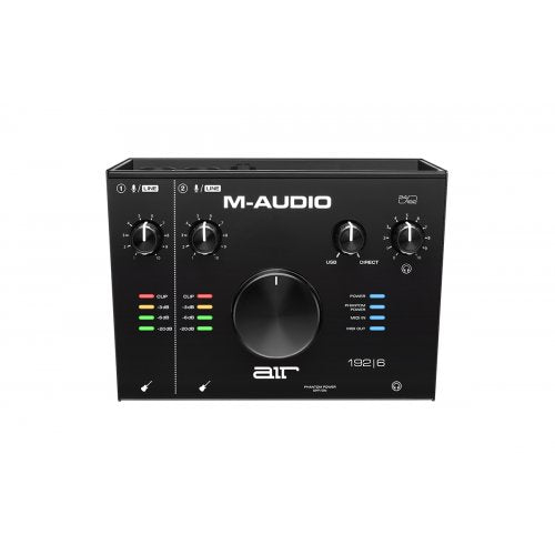 M-Audio AIR 192X6 Air 192|6 2-IN/2-OUT USB Audio Interface - Red One Music