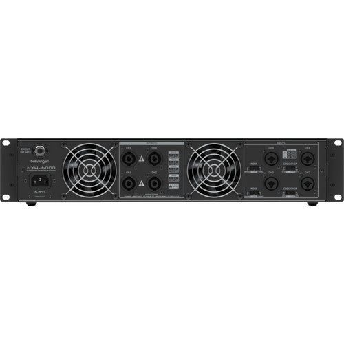 Behringer Nx4-6000 Amplificateur 4-Channel 6000W