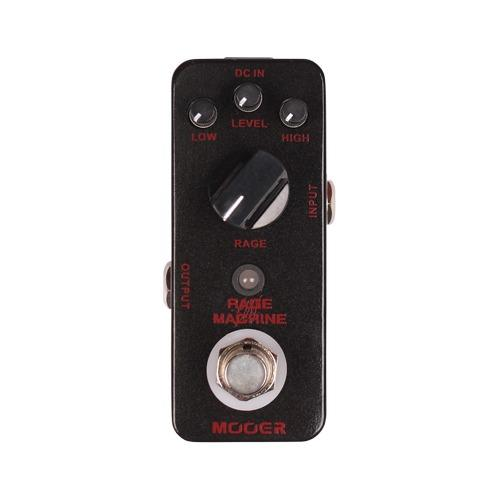 Mooer Mmd2 Rage Machine Digital Metal Distortion Pedal - Red One Music