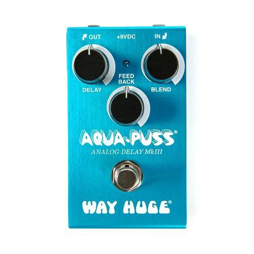 Way Huge Wm71 Smalls Aqua Puss Analog Delay Pedal - Red One Music