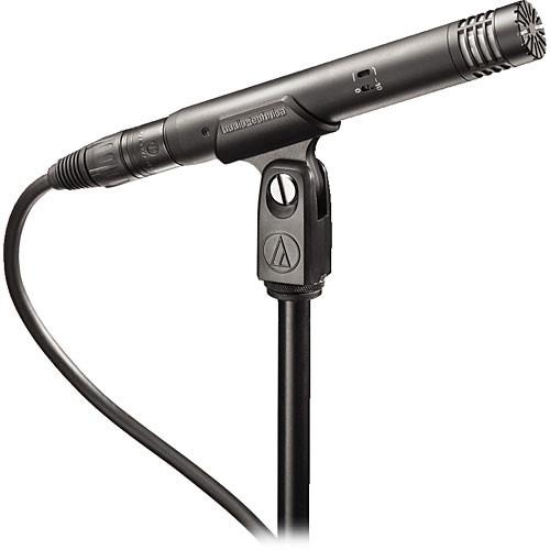 Audio-Technica At4021  Audio-Technica At4021 Cardioid Condenser Microphone - Red One Music