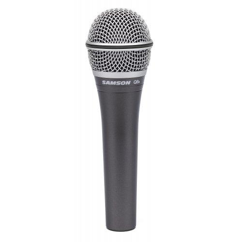 Samson Q8X Dynamic Vocal Microphone Handheld Microphone - Red One Music
