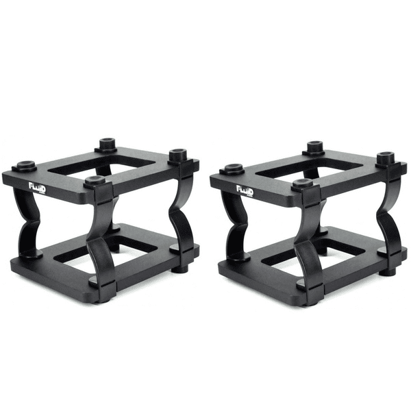 Fluid Audio Ds8  7- 8 Desktop Stands Pair - Red One Music