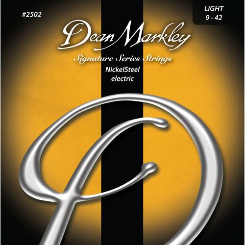 Dean Markley 2502 Nickelsteel Electric Signature Series Guitar Strings 6-String Set 9 - 42 - Red One Music