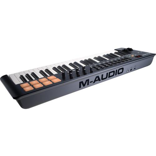 M-Audio Oxygen 49 IV USB Midi Keyboard Controller - Red One Music