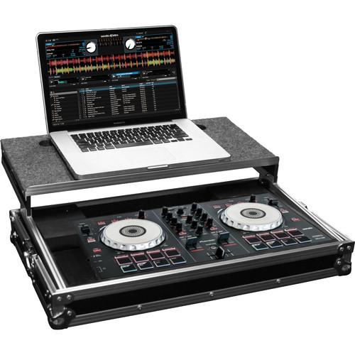 Odyssey Dj Controller Case Frgspiddjsb Innovative Designs Flight Ready Glide Style Hard-Case - Red One Music