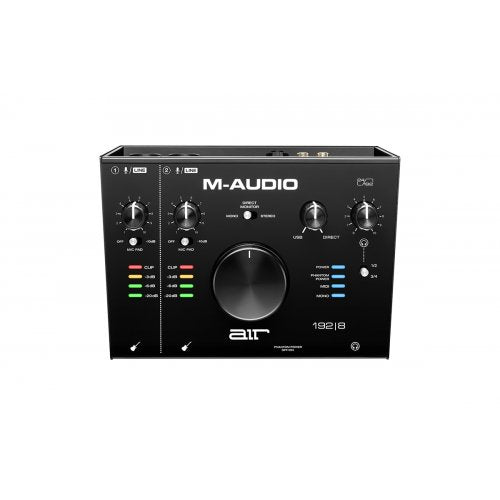M-Audio AIR 192X8 Air 192|8 2-IN/4-OUT USB Audio Interface - Red One Music