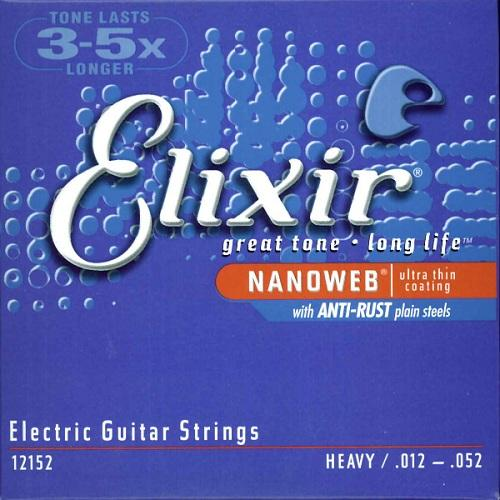 Elixir Elect Gtr-6 Str-Nw-Hvy 12152 Scale 012-052 - Red One Music