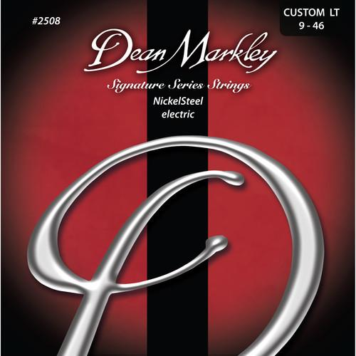 Dean Markley 2508 Cust Lt Nickelsteel Electric Signature Series Guitar Strings 6-String Set 9 - 46 - Red One Music
