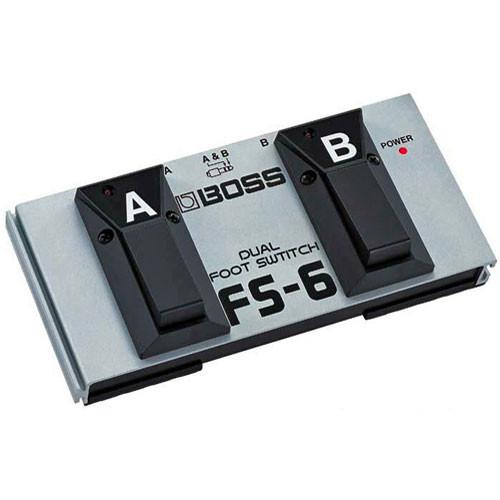 Boss Fs-6 Dual Latch And Momentary Footswitch Pedal