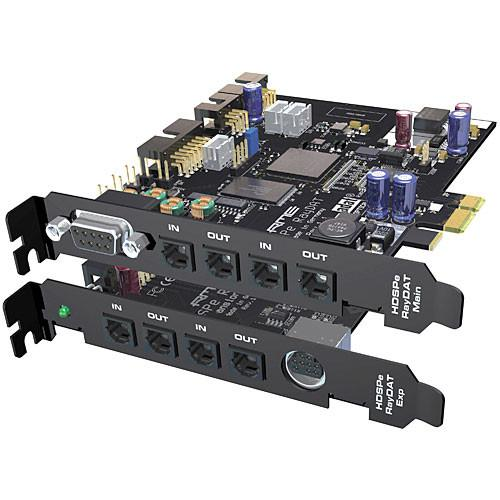 RME HDSPe RayDAT - 36 Channel Digital Audio Amp Midi Pci Express Card System - Red One Music