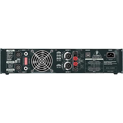 Behringer Ep4000 Professional Stereo Power Amplifier - Red One Music