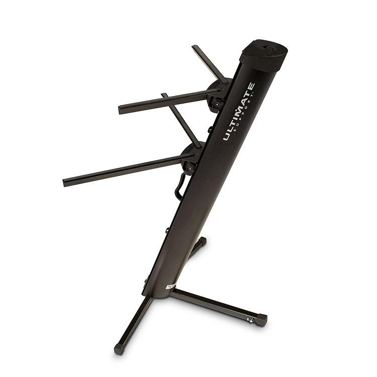 Ultimate Support Ax48 Pro Keyboard Stand Electronic Keyboard Stand - Red One Music