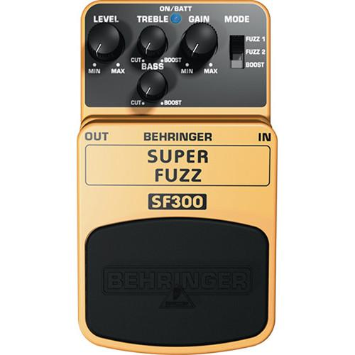 Behringer SF300 Super Fuzz Distortion Pedal - Red One Music