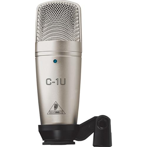 Behringer C1U Usb Studio Condenser Microphone - Red One Music