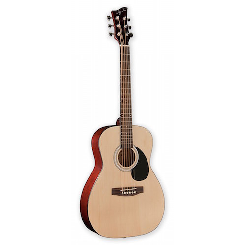 Jay Turser JTA502-N 1/2 Acoustic Guitar -Natural - Red One Music