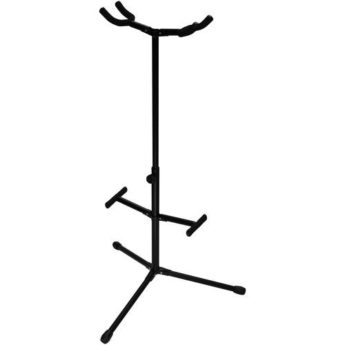 Ultimate Support Js-Hg102  Double Hanging-Style Guitar Stand - Red One Music